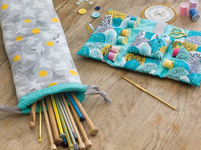 How To Make A Knitting Needle Case Woman S Weekly