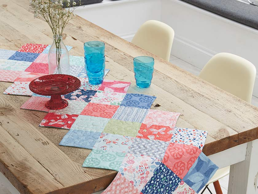 How To Sew A Patchwork Table Runner Woman S Weekly
