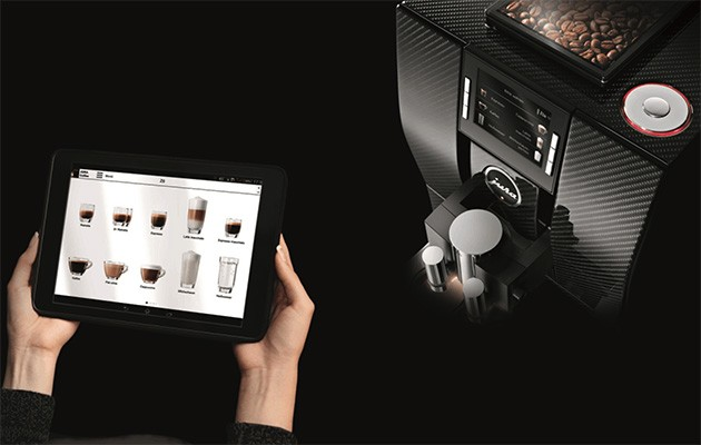 jura smart connect lets you order a coffee at home from. Black Bedroom Furniture Sets. Home Design Ideas