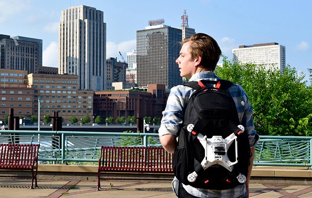 Swiza drone backpack