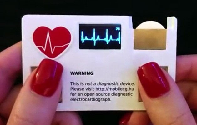 ECG business card