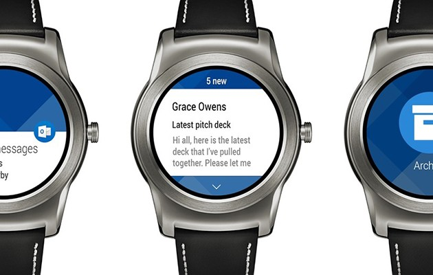 Outlook for Android Wear