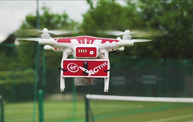 Virgin Active Drone-ovic
