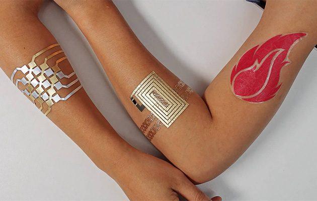 DuoSkin tempoerary tattoos
