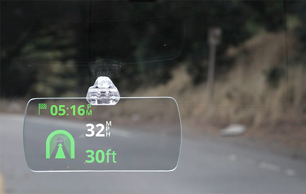 Hudly heads up display