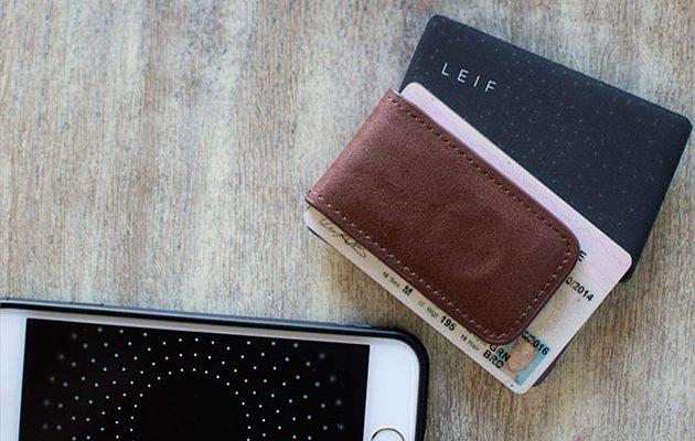 LEIF smart wallet card
