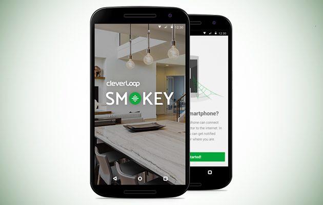 Smokey fire alarm app