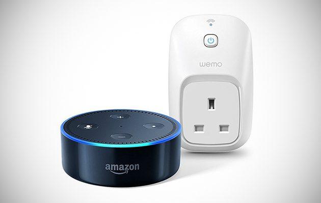 Amazon Echo Dot Wemo Inisg
