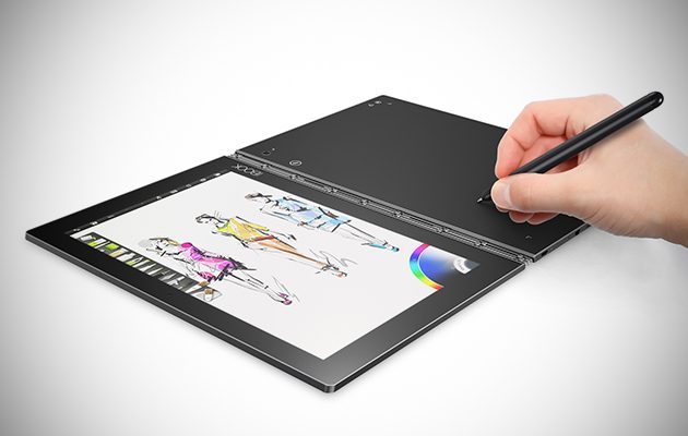 Lenovo Yoga Book writing 2