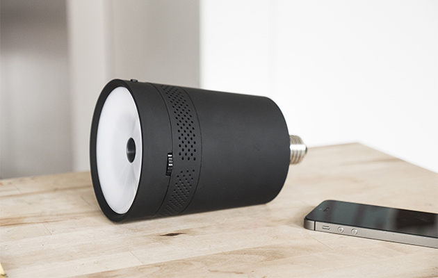 Beam Turns Your Bedside Lamp Into A Cinema Projector