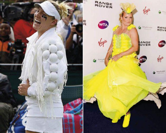 Wow! Bethanie Mattek-Sands has made Wimbledon fashion Gaga!