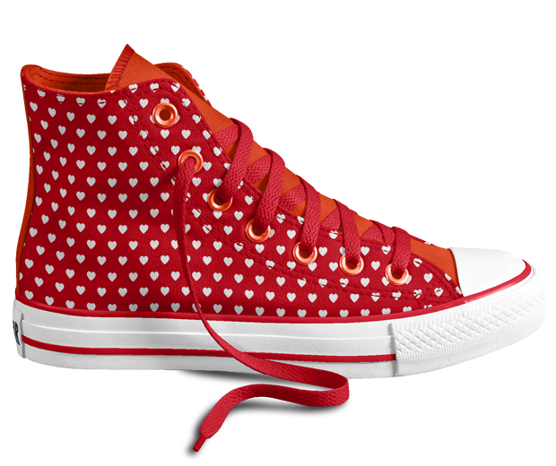 Get creative! You can now design your own Converse for £55!