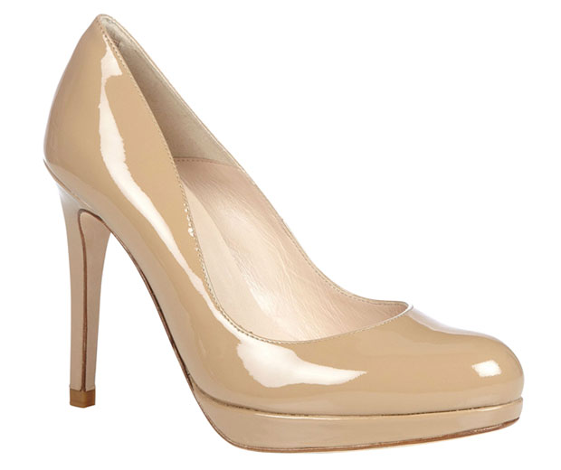 High street fashion shop L.K.Bennett's Sledge Platform Court Shoes, £175