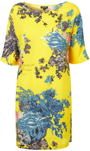 Tropical florals have hit high street mecca Topshop