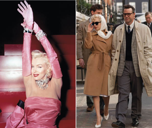 My Week With Marilyn Outfits
