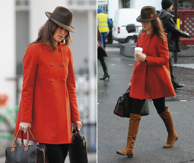 We love this statement Zara coat – Pippa Middleton gets it right, yet again!