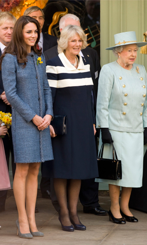 Stylish while shopping! Kate Middleton wraps up in a Missoni coat while at Fortnum And Mason
