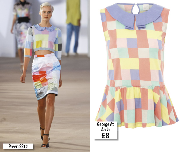 Shop George at Asda's pastel Preen-style top for just £8