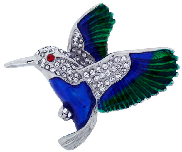 Need a high street fashion fix? These Amazon bird brooches are in the sale!