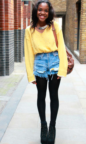 We're loving the denim street style fashion trend on Look What I'm Wearing!