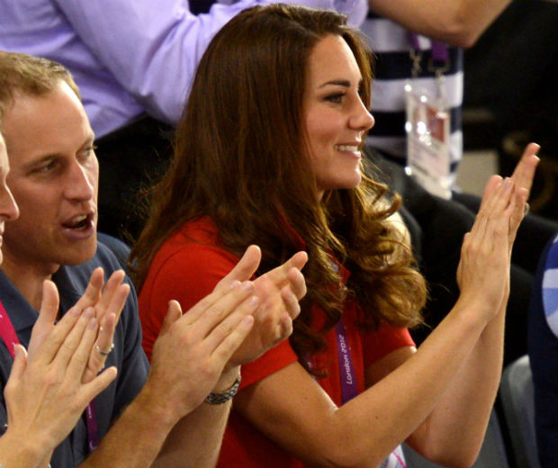 Kate Middleton applauded the athletes at the Paralympic Games