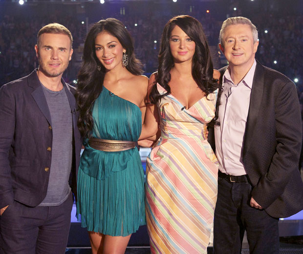 Gary Barlow will remain at home with his family while his fellow judges promote the latest X Factor series