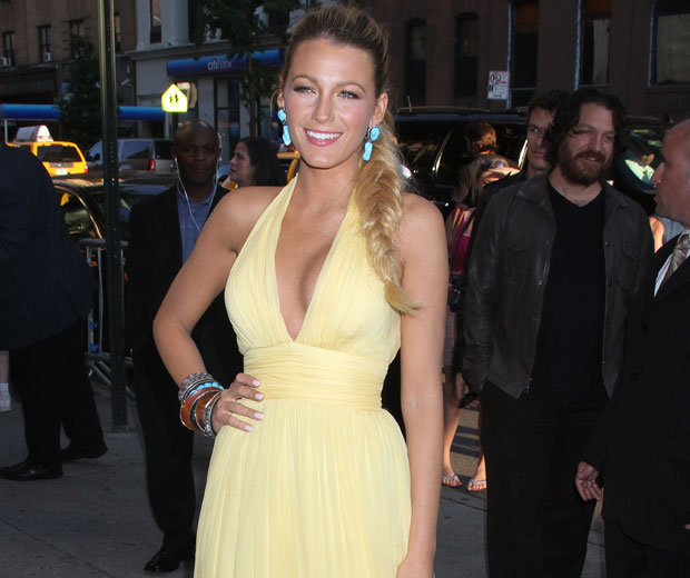Blake Lively has spokjen about the time she met the Spice Girls