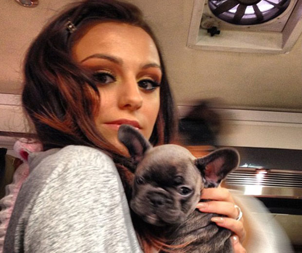 Cher Lloyd introduces her 'new baby' tot he world