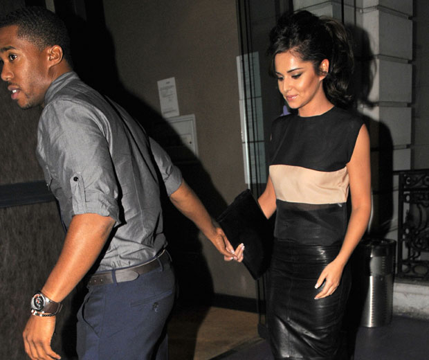 Cheryl Cole and Tre Holloway show us just how smitten they are while on a date in London