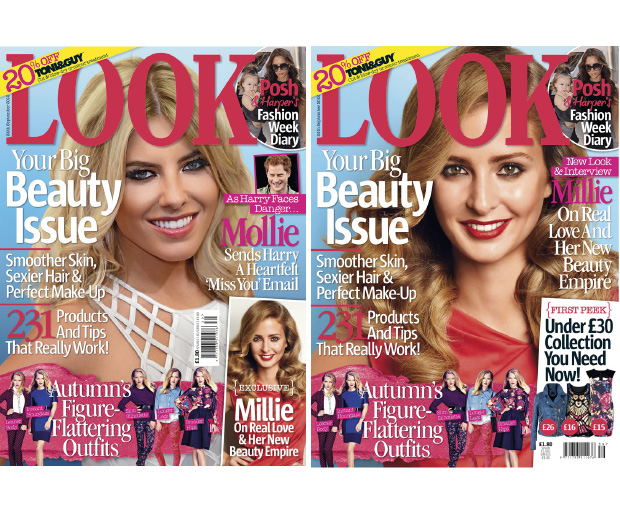 High street fashion fans, grab LOOK starring Millie Mackintosh and Mollie King!