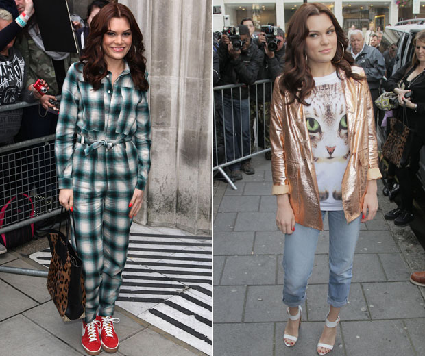 Jessie J is determind to show off her new look while promoting her book