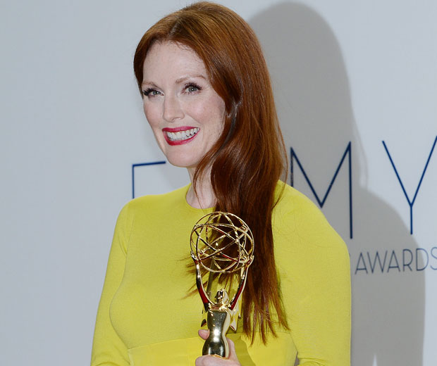 Julianne Moore scooped the award for Best Lead Actress In A Miniseries Or Movie