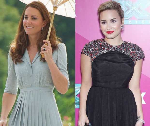 Demi Lovato has leapt to Kate Middleton's defence