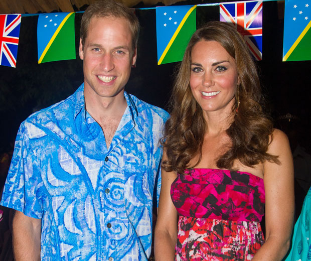 Kate Middleton wore the wrong dress in public on the Solomon Islands