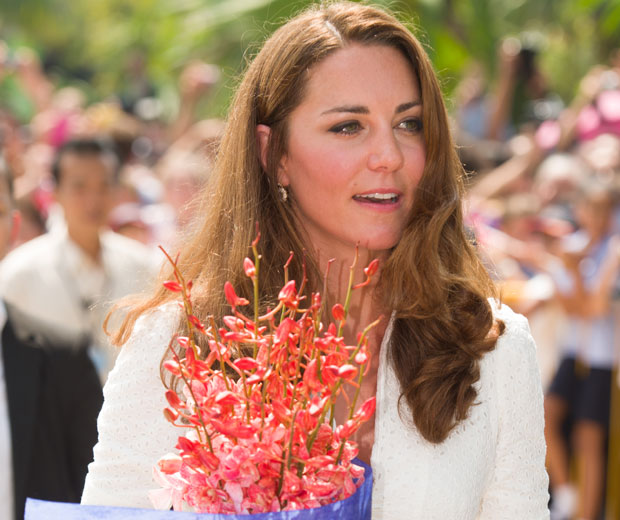 Kate Middleton chose to wear Alexander McQueen for her second day in Singapore