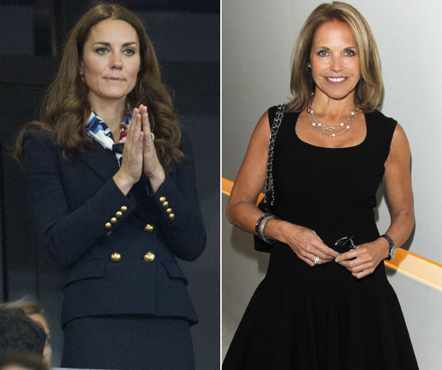 """Katie Couric has said that the Duchess """"needs to eat more"""""""