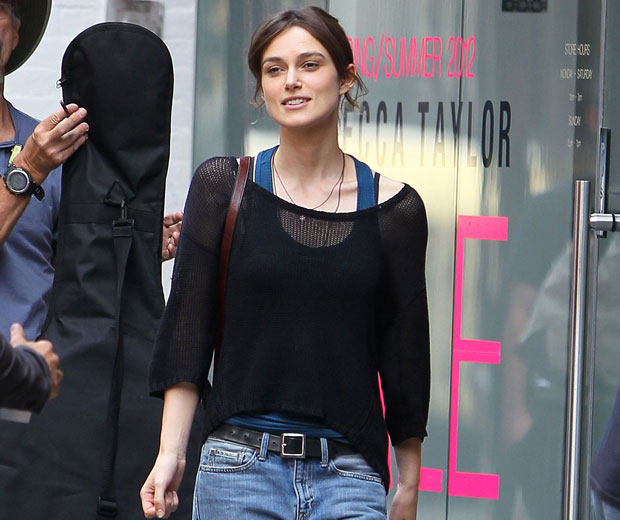 Keira Knightley might not wear a big white dress on her wedding day