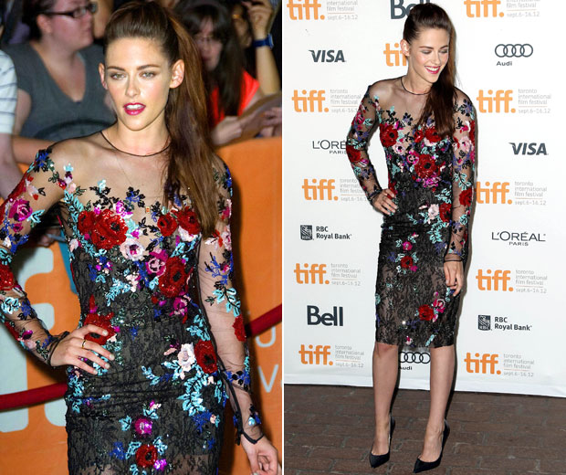 Kristen Stewart put on a brave face at the Toronto International Film Festival