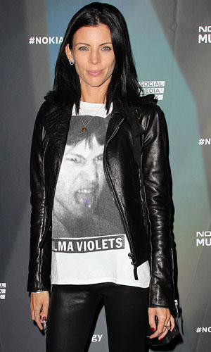 Liberty Ross appears to have put her wedding and engagement rings back on