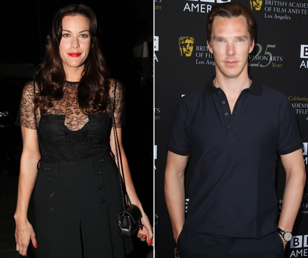 Liv Tyler abd Benedict Cumberbatch were rumoured to be dating