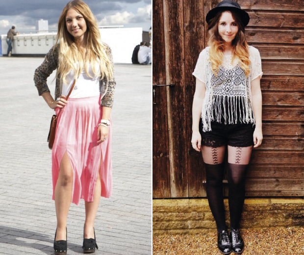Dip dye hair fans, check out these looks!
