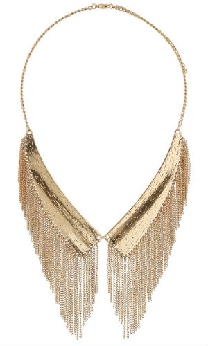 Miss Selfridge Peter Pan Necklace