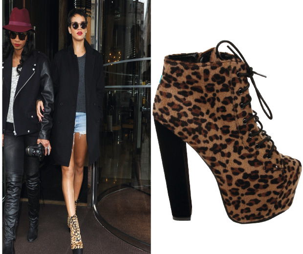 Get Rihanna's look with these leopard lovelies at high-street fave Daisystreet.co.uk