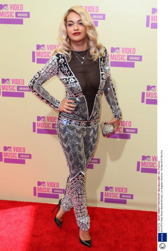 Rita Ora wears Emilio Pucci at the MTV Video Music Awards 2012