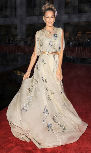 Sarah Jessica Parker hit the Lincoln Center for the New York City ballet gala