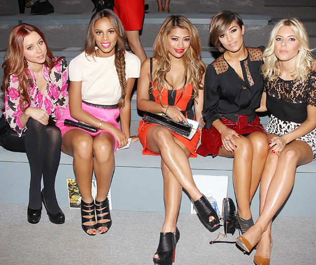 Una Healy, Rochelle Wiseman, Vanessa White, Frankie Sandford and Una Healy are going up in the world