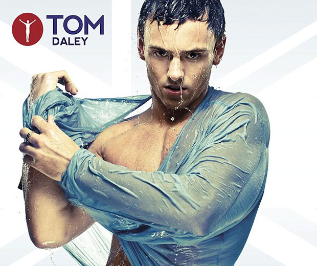 Tom Daley in a wet shirt = HOT