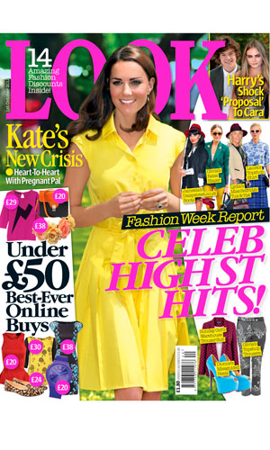 High Street Fashion Fans Pick Up Your Amazing Copy Of LOOK Magazine Tomorrow!