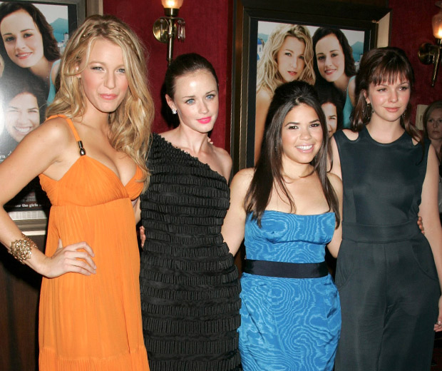 Blake Lively invited her pals Alexis Bledel, America Ferrera, and Amber Tamblyn