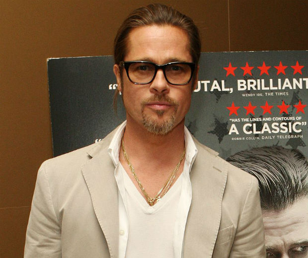Brad Pitt was out in London today!
